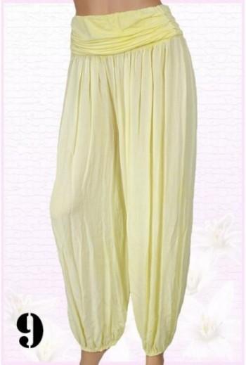 Spodnie damskie haremki