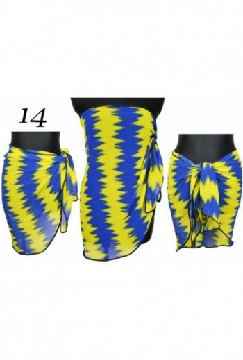 Pareo Trójkątne dwukolorowe chusta plażowa titofirma