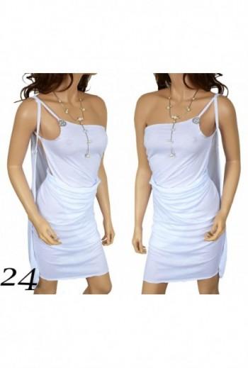 Sukienka Plażowa biała