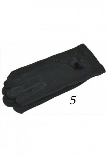 Ciepłe damskie rękawiczki