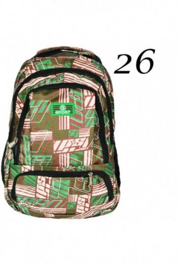 Plecak z wzorem