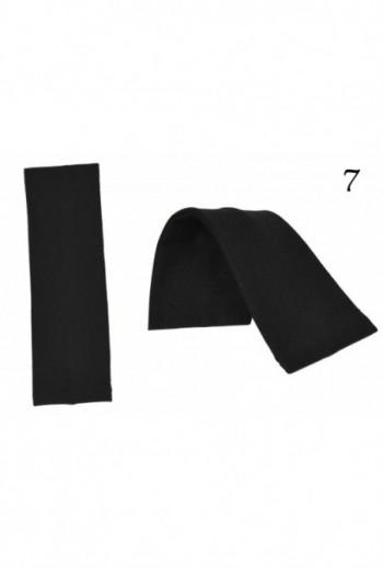 Uniwersalna Damska Opaska Bawełniana czarna titofirma
