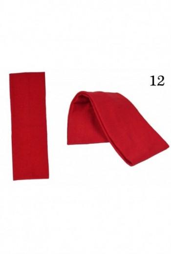 Czerwona Opaska damska bawełniana titofirma