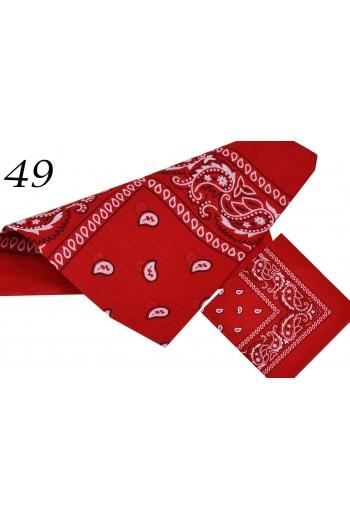 Bandana klasyczna czerwona titofirma
