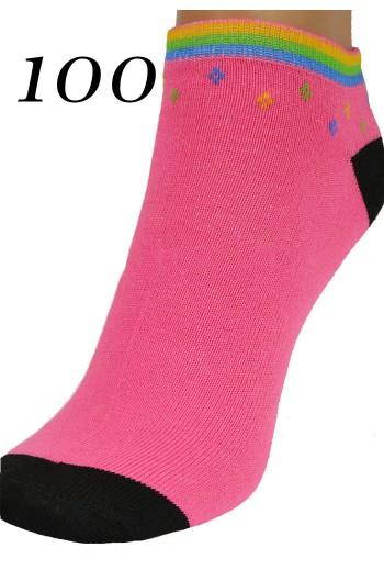 Różowa Stopka Damska bawełna titofirma