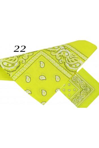 Żółta Bandana klasyczna  titofirma