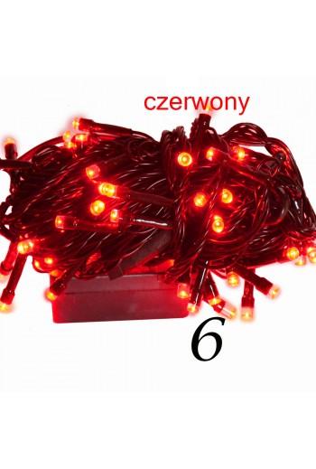 Choinkowe lampki led 200 Czerwone Kielce TitoFirma