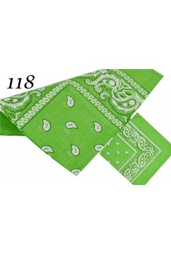 Laserowa zielona Bandana uniwersalna Kielce TitoFirma