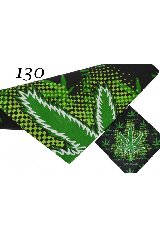 Modna Bandana Marihuana Zielona Kielce TitoFirma