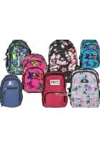 Plecak który pozwoli wyróżnić sie Twojemu dziecku. Plecaki szkolne w najnowsze wzory kółka, kwiatki, kwiaty.