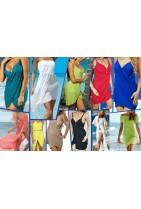 Wykonana z bawełny Sukienka plażowa która pozwoli wyróżnić się wśród swoich znajomych. Ukaże twoje piękne ciało.