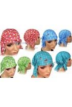 Bawełniana czapka na głowę. Bandana która ułatwi ci przebywanie na słońcu, osłoni przed nim jak i uniemożliwi pocenie się.